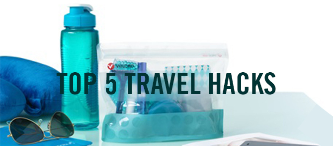 VELCRO® Brand Travel Hacks