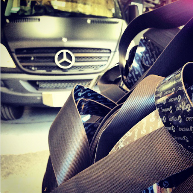 VELCRO® Brand products, Mercedes Benz, MAKEwithMOTO
