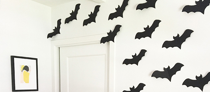 DIY Cave of Bats with Sabrina Soto and VELCRO® Brand