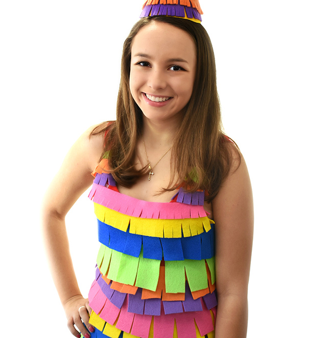VELCRO® Brand DIY Pinata Costume Project
