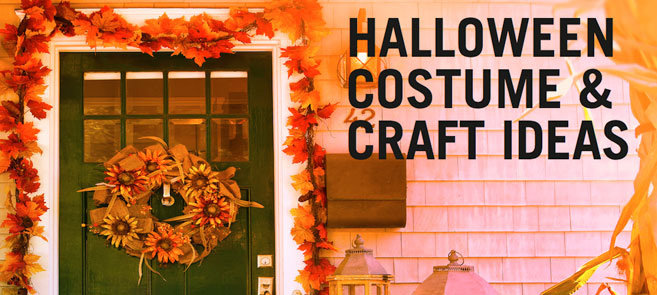 free halloween crafts and costumes ebook