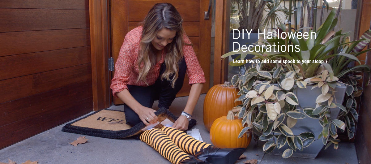 VELCRO® Brand DIY Halloween Doormat with Sabrina Soto