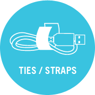 VELCRO® Brand Ties and Straps