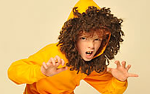 DIY Lion Kids Costume
