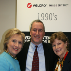 Hillary Clinton Visits Velcro Companies