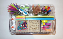 Sabrina Soto and VELCRO® Brand Craft Caddy Project