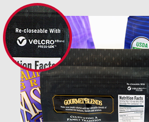 VELCRO® Brand PRESS-LOK™ Co-branding