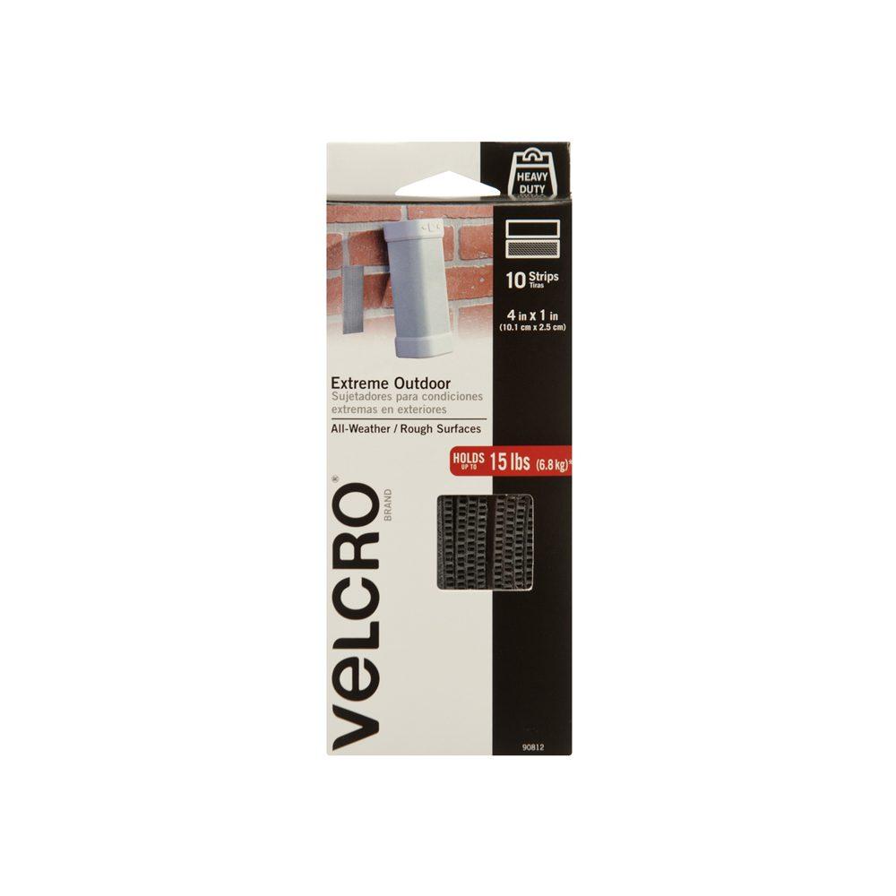 Industrial StrengthIndoor /& Outdoor UseHeavy Duty Superior VELCRO Brand