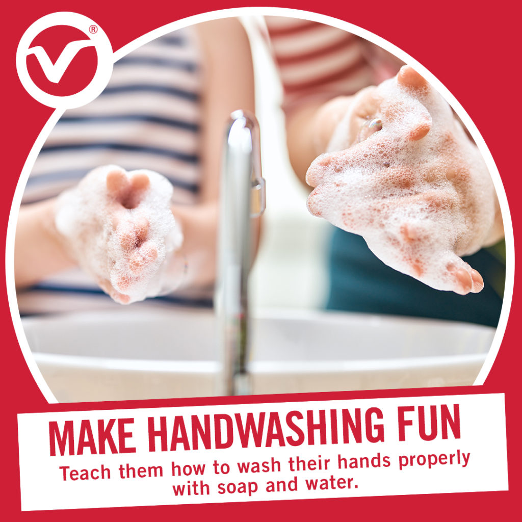 Back to School Tip - Make Hand Washing Fun