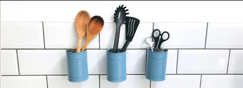 spring cleaning checklist - make a utensil holder