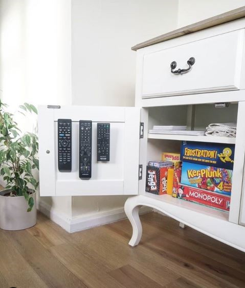 spring cleaning checklist - organize remotes