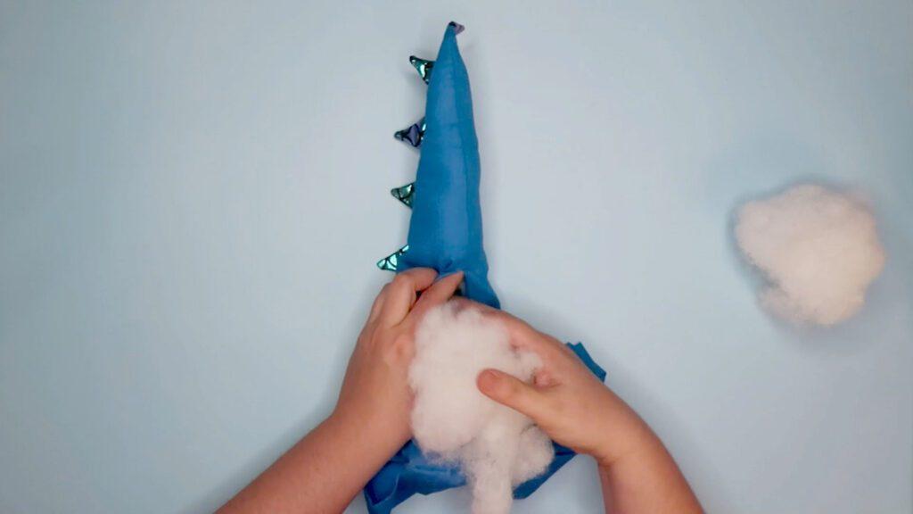 DIY A Dragon Costume step 14