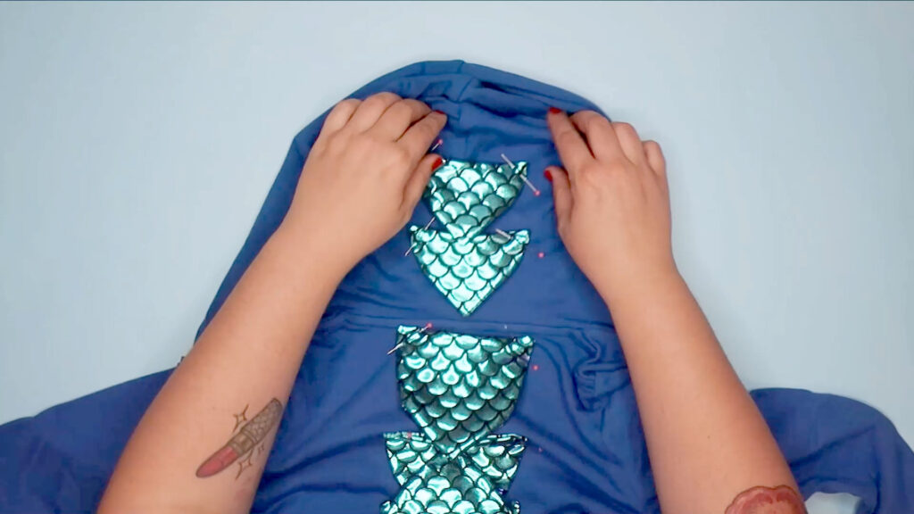 DIY A Dragon Costume step 7b